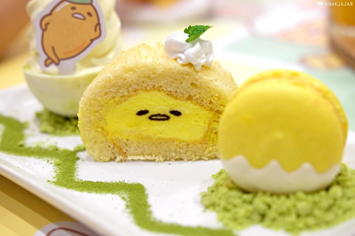 Cafe Shirokuma, Gudetama Dessert Land